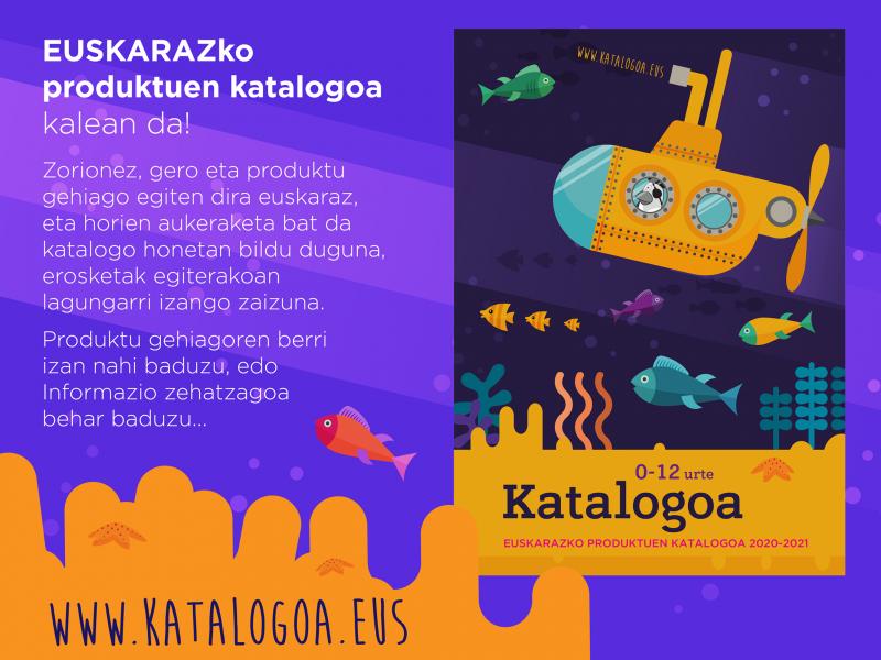 Un catalogue de produits en euskara pour aider Olentzero