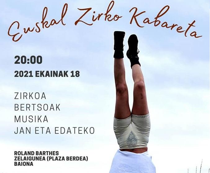 Euskal zirko kabareta Baionan