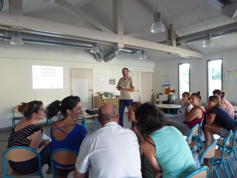 Focus : accompagner l'enfant dans son apprentissage de l'euskara