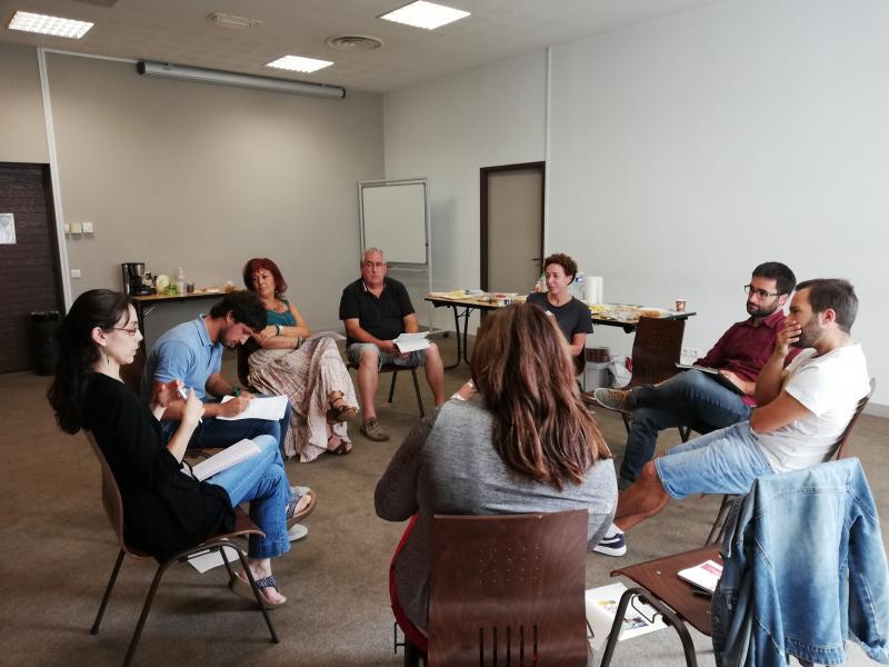 Une grande diversité de participant aux premiers ateliers
