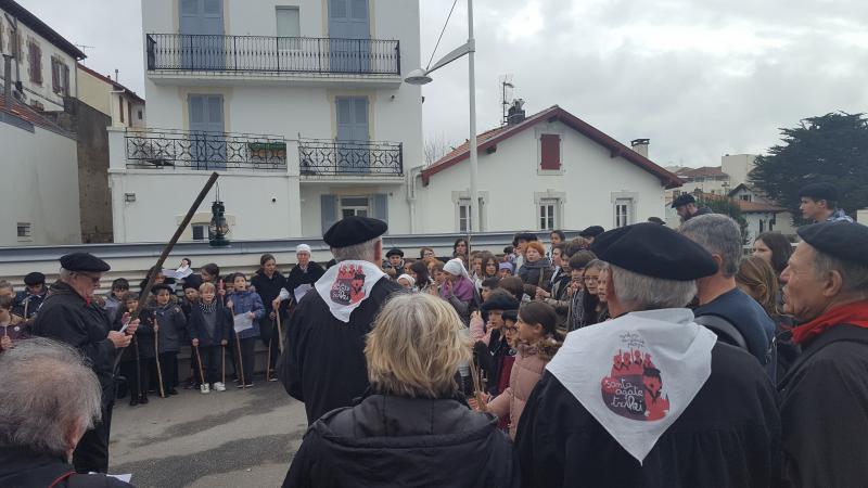 Santa Agate à Biarritz