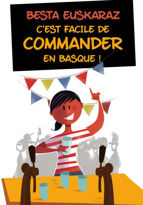 C'est facile de commander en basque !