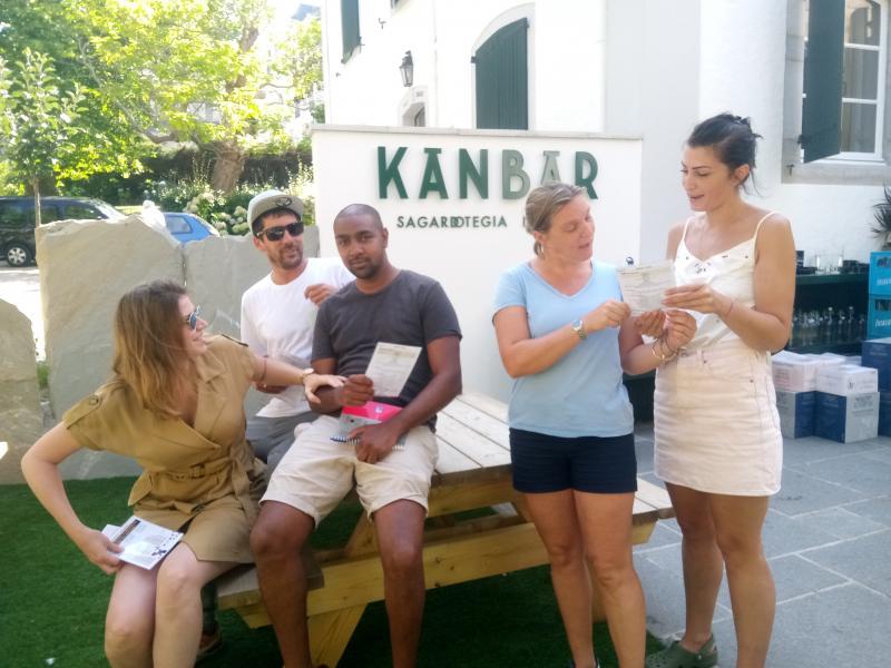 L'équipe de Kanbar s'initie à l'euskara
