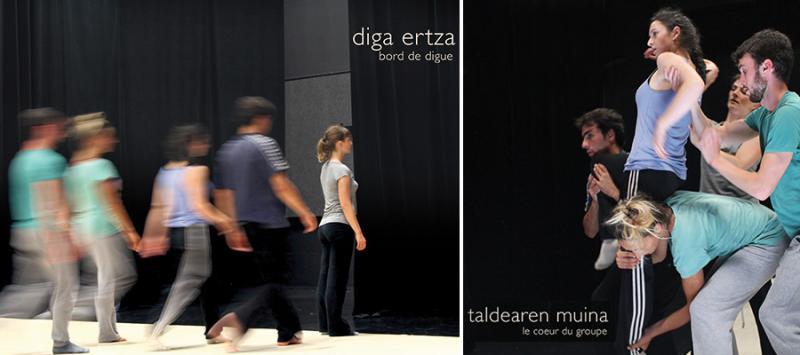 Répétition publique du spectacle Artha à Biarritz