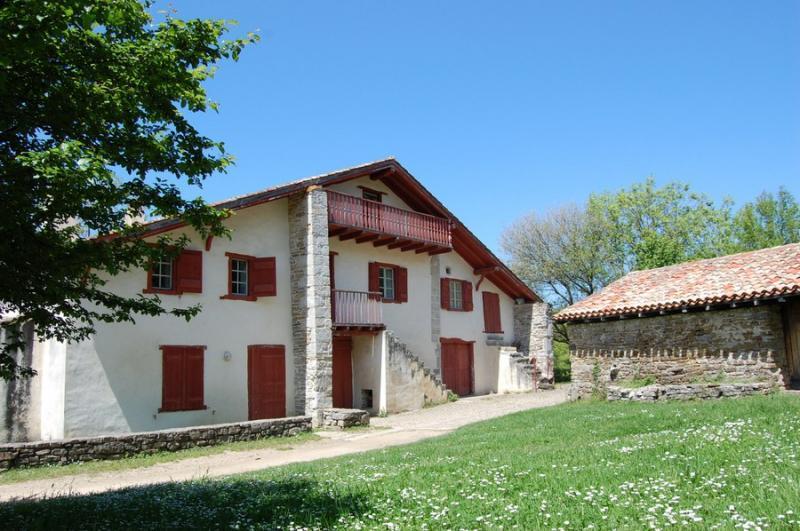 Le lieu de résidence Nekatoenea au Domaine d'Abbadia © Jakes Larre (ICB)