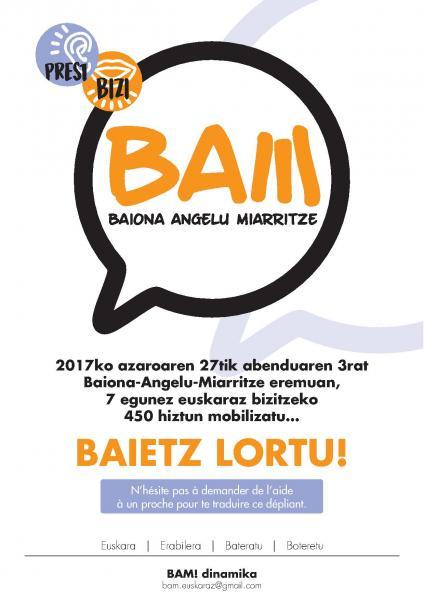 BAM! Ahobizi & Belarriprest