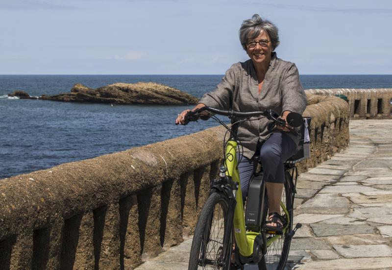 L'euskara roule sur les pistes cyclables