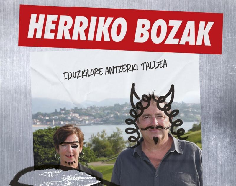 Herriko bozak antzerkia Miarritzen