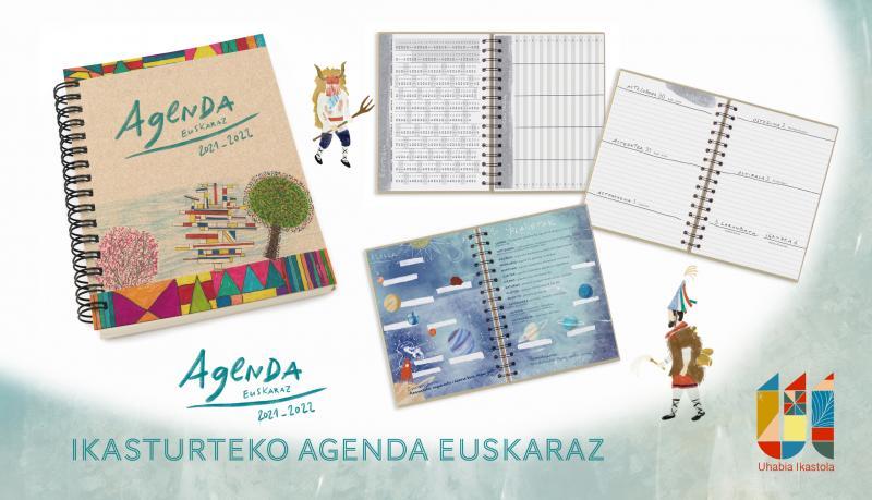 Un agenda en euskara pour 2021-2022