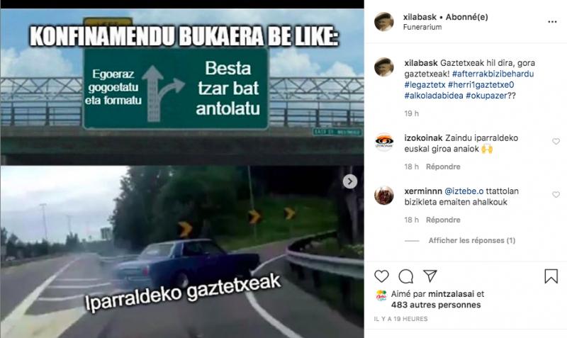 Les mèmes parlent aussi euskara