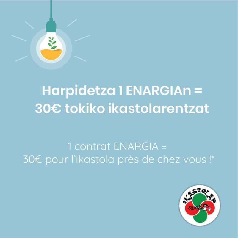 ENARGIA soutient les ikastola