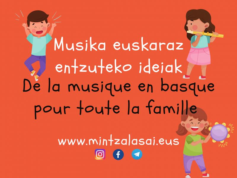 De la musique en basque à écouter en famille