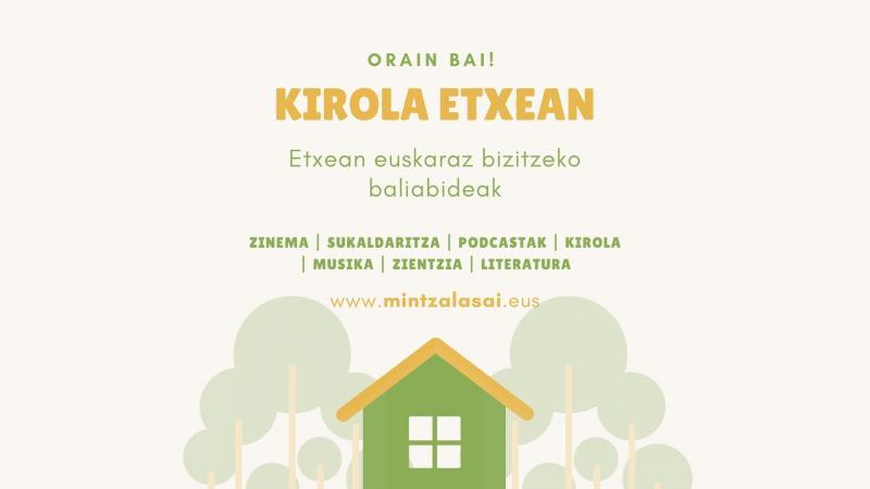 Des activités physiques à faire chez vous, en euskara