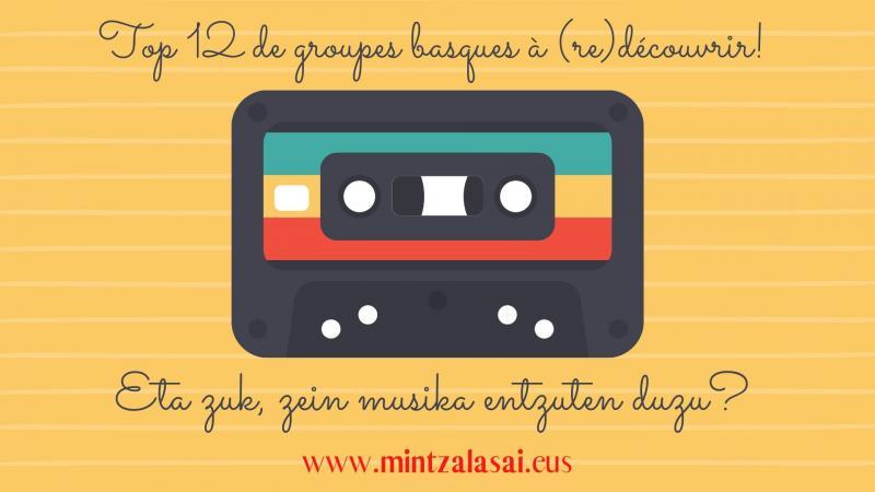 12 groupes de la scène indépendante basque