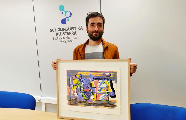 Eneko Gorri remporte le prix Txillardegi-Hausnartu