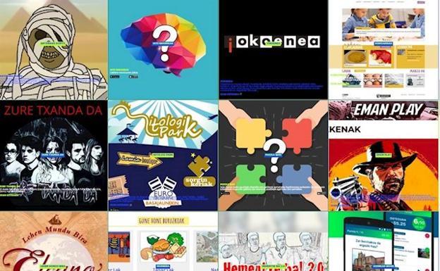 Plus de 100 ressources en ligne en euskara