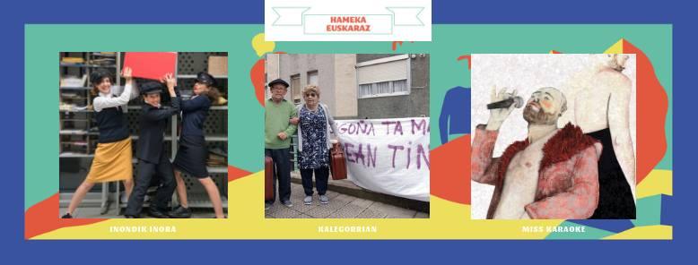 3 spectacles en euskara