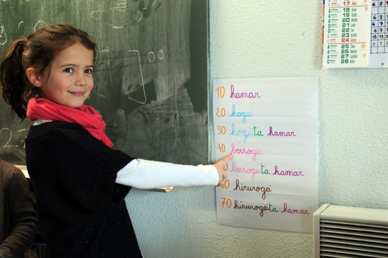 Enseignement bilingue: une réunion d'info à Biarritz