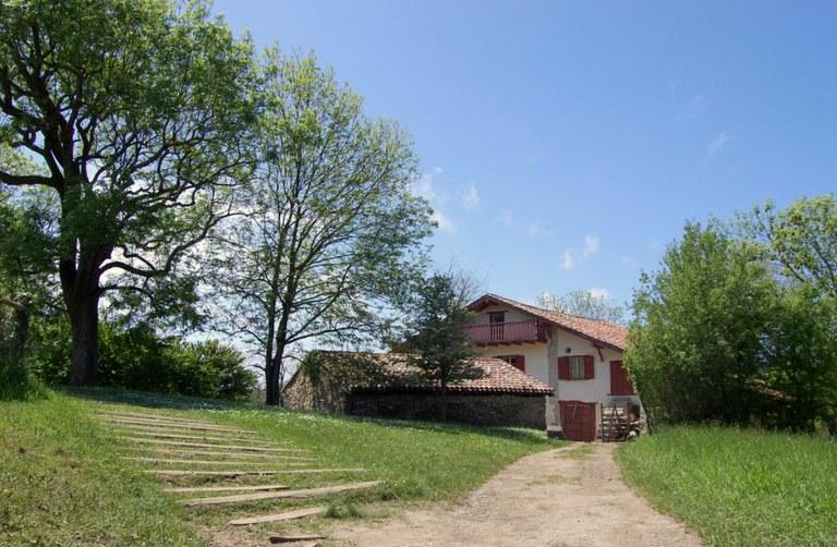 Résidence d'écrivain basque