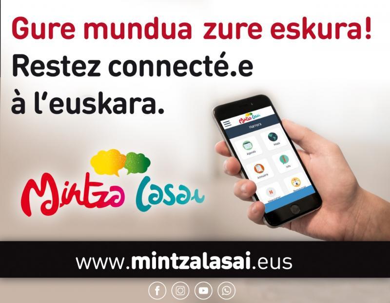 Hari@ Le fil d'actu pour rester connecté à l'euskara