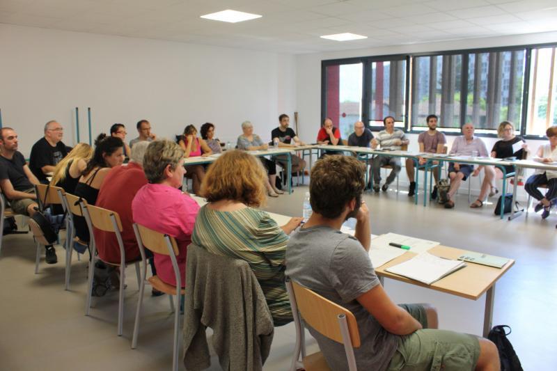 En plus de Bayonne, Eibar et Pampelune accueilleront aussi des cours et ateliers.