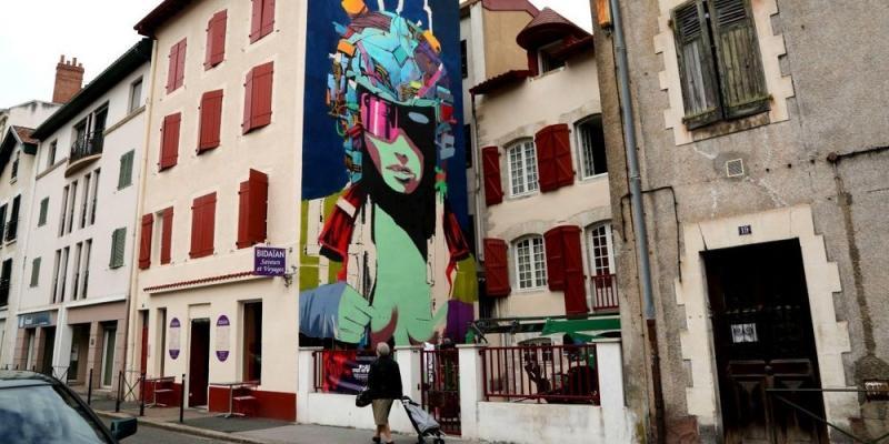 Street art bisita euskaraz