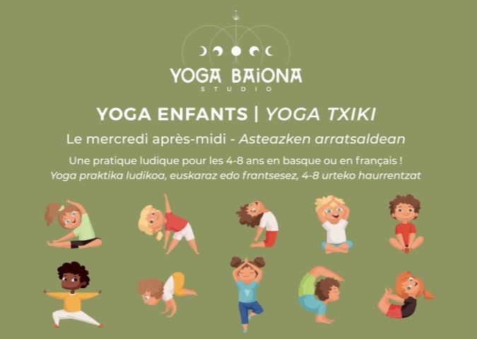 Yoga txiki à Baiona
