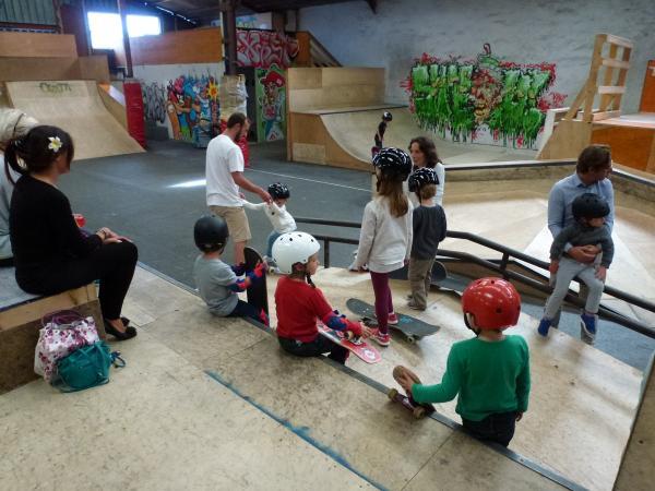 Initiation au skate