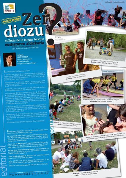 18. euskara aldizkaria