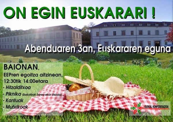 Journée internationale de la langue basque