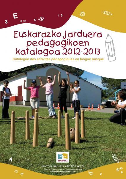 Catalogue des activités pédagogiques
