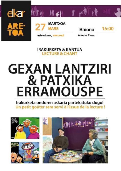 Gexan Lantziri & Pantxika Erramouspe
