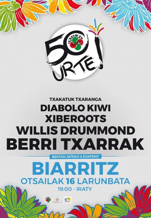 BERRI TXARRAK + WILLIS DRUMOND