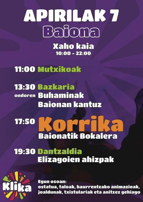 Korrika à Bayonne