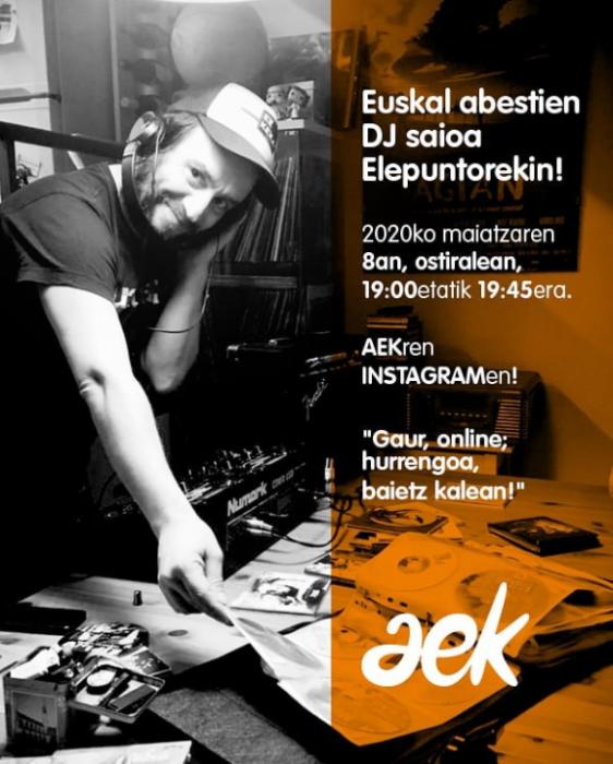 Cession DJ de chants basques avec Elepunto