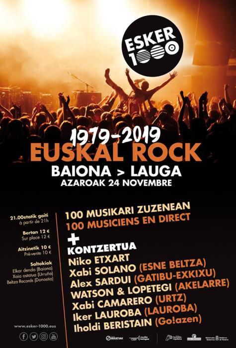 1979-2019 EUSKAL ROCK