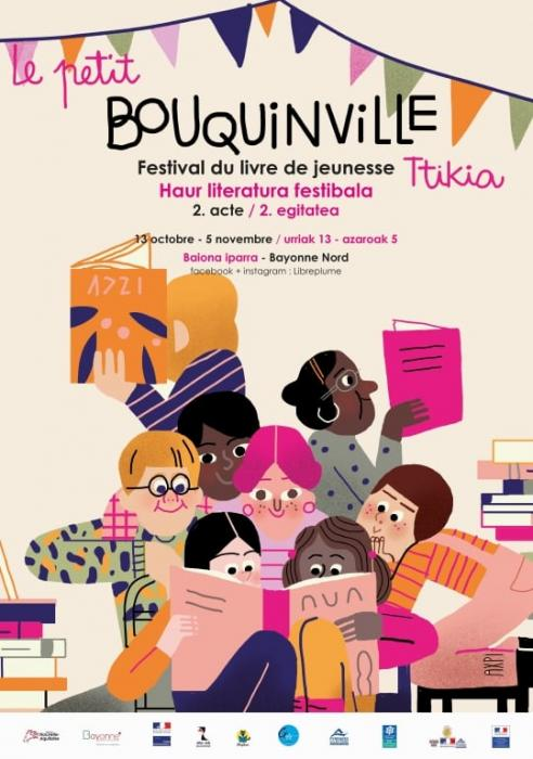 Le petit Bouquinville : Urmael txiki