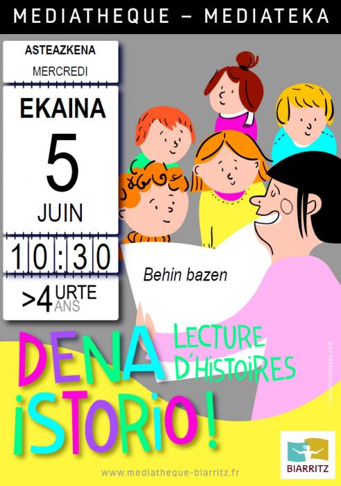 Lecture pour enfants en euskara