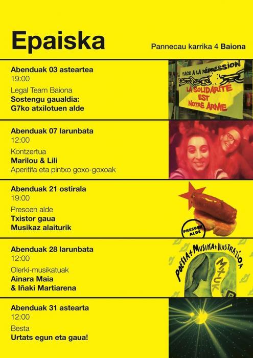 Poésie en musique : Ainara Maia & Iñaki Martiarena
