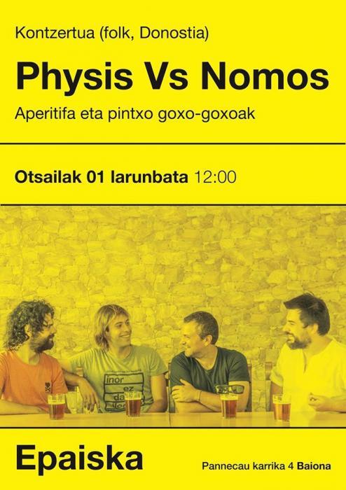 Physis Vs Nomos (folk, Donostia)