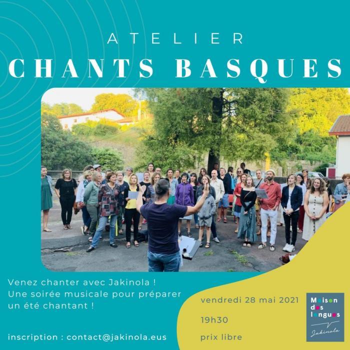Atelier Chants basques