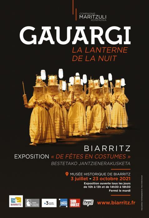 Gauargi : Exposition de fêtes en costumes