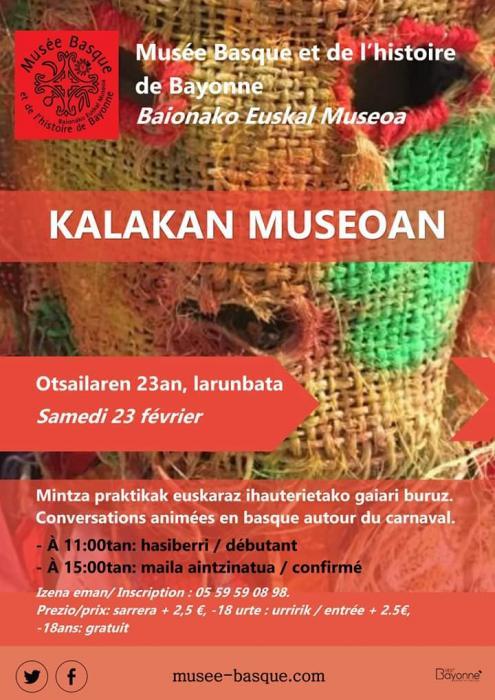 Kalakan museoan : pour les débutants