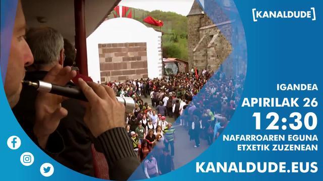 Nafarroaren eguna depuis chez vous