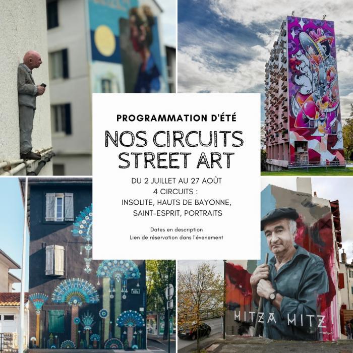 Parcours Street Art du quartier Saint-Esprit
