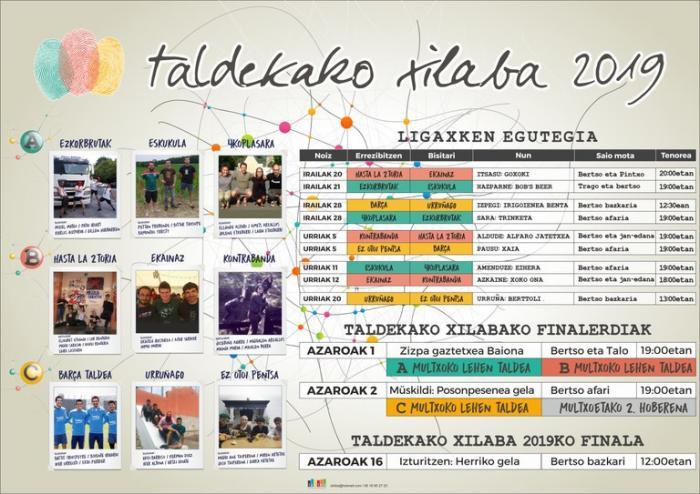 Taldekako Xilaba 2019 - 1. finalerdia