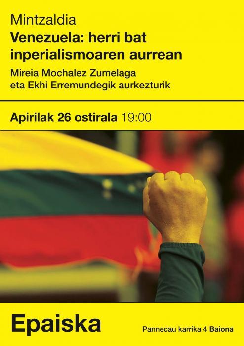 Venezuela: un pays face à l'impérialisme