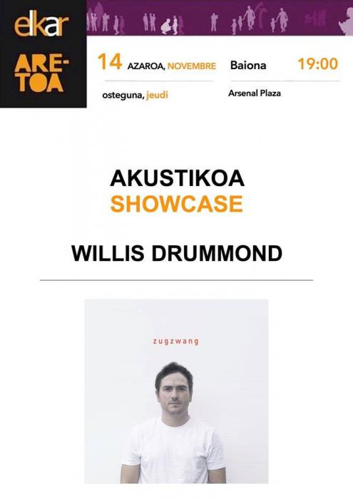 Willis Drummond, showcase