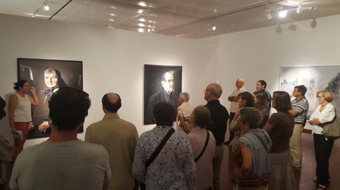 Visite guidée de l'exposition Indarra