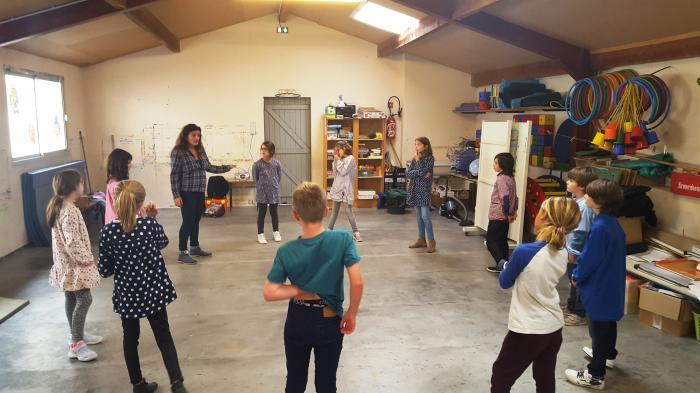Mintzalasai dans le temps scolaire :Atelier Musicothérapie